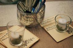 my perfect backyard wedding: Cards via The Trendy Sparrow on Etsy