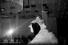 bride embracing groom at denver ctr for performing arts denver colorado #GOWSRedesign