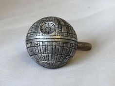 For the love of my life -- Star Wars Death Star Cabinet Drawer Knob...for the night stand