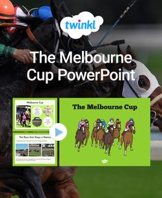 Teach your class about racing with this beautifully illustrated Melbourne Cup presentation. Details facts and the history of this national pastime. Comprehension Activities, Melbourne Cup, Classroom Displays, Task Cards, Mathematics, Teaching Resources, Presentation, Facts