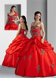 Ball Gown Strapless Sweetheart Neckline with Embroidery Floor Length Taffeta Quinceanera Dress QD1016 www.dresseshouse.co.uk $155.0000  ----2012 Quinceanera Dresses, Quinceanera Ball Gowns,2013 Quinceanera Dresses, Quinceanera Ball Gowns 2013,Quinceanera Dresses 2013,Quinceanera Dresses UK