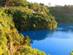 Mount Gambier's fabulous Blue Lake! South Australia