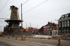 Rondje Spoorzone Delft. Trambaan 26-02-2012. Foto Thea Tetteroo