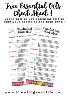 To help guide you on your essential oils journey, I've put together a quick and easy essential oils cheat sheet! This will help you get an idea of the wide variety of applications essential oils can have in your daily life. This cheat sheet goes over the 10 essential oils that come in the Young Living Premium Starter Kit. Including there properties, and uses. Click here to view now or pin to save for later!
