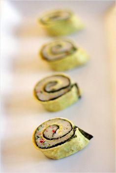 Steamed Fish Rolls