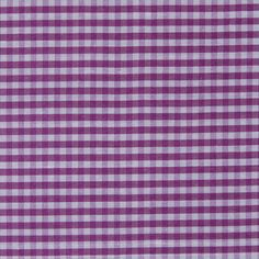 Tocca Radiant Orchid and White Gingham Silk Taffeta