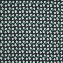Green/White Circle Printed Combed Cotton Voile 113835 The polka-dot has been around since the and still popping up almost everywhere and on everything. This little round bubble like shape done in white and tonal colors seem to dance and play nicely Mood Fabrics, Green Fabric, Buy Prints, Fashion Fabric, Fabric Online, Printed Cotton, Printing On Fabric, Bubbles, Delicate