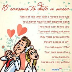 benefits of dating a nurse