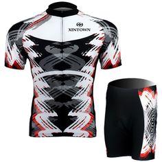 Freefisher Men's Cycling Bicycle Short Jersey Set Tornado