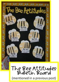 bee theme bulletin boards   Classroom Rules ...The Honey Bunch: bee theme