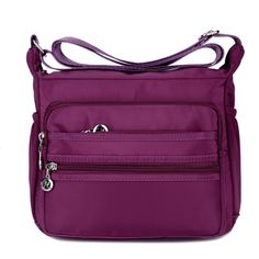 Large Capacity Women Waterproof Nylon Shoulder Bag Crossbody Bag  Worldwide delivery. Original best quality product for 70% of it's real price. Hurry up, buying it is extra profitable, because we have good production sources. 1 day products dispatch from warehouse. Fast & reliable...