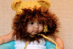 Baby Lion Hat by kariodesigns on Etsy, $22.00