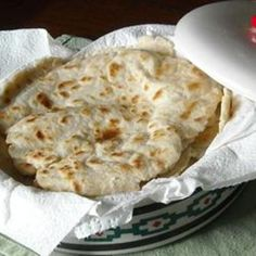"Authentic Mexican Tortillas I ""The best flour tortillas I've ever eaten. The kids loved them. The dough was soft and easy to roll. Recipes With Flour Tortillas, Homemade Flour Tortillas, Flour Tortilla Recipe With Shortening, Tortilla Recipe With Lard, Making Tortillas, Fresh Tortillas, Corn Tortillas, Mexican Tortilla Recipe, Tortilla Recipes"