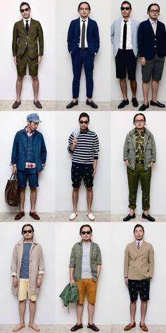 Beams Plus Men's Lookbook