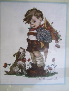 See Sally Sew-Patterns For Less - Not For You M.J. Hummel Cross Stitch Chart Needle Treasures Design 02609  , $8.00 (http://stores.seesallysew.com/not-for-you-m-j-hummel-cross-stitch-chart-needle-treasures-design-02609/)