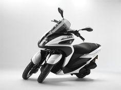 Yamaha Tricity 125 ccm z dwoma kołami z przodu