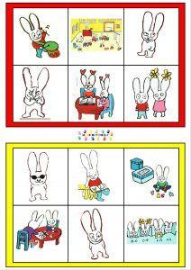 Je veux pas aller à l'école : Loto – MC en maternelle Preschool, Classroom, Comics, Kids, Albums, Maths, Weight Loss, Class Room, Kindergarten