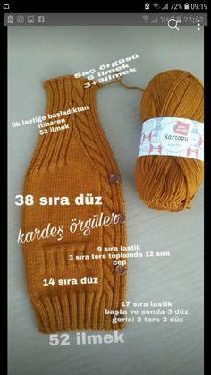 Chaleco Baby Knitting Patterns, Knitting Stitches, Free Knitting, Crochet Patterns, Knit Baby Dress, Knitted Baby Clothes, Knitted Hats, Crochet For Kids, Crochet Baby