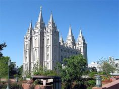 Mormon temple, Salt Lke city, Utah