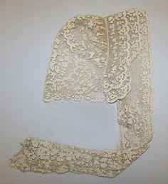 Mid 19th century cap, American, cotton