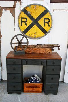 Antique Recreation: desk
