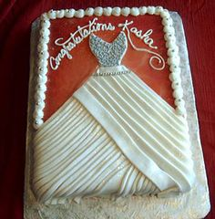 i love this bridal shower cake