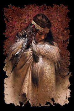 Native American Paintings | Lee Bogle