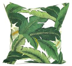 green tommy bahama palm leaf