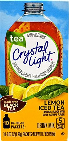 Crystal Light On the Go Iced Tea with Lemon Flavor 10 Count Boxes Pack of 10 *** Check out this great product.