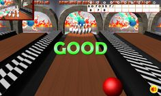 * Introduction:  Game play offline and does not require a network connection.  Home Game in 3D bowling simulation game by famous sports bowling. Players must perform overthrow the battery to record the highest score. Move the ball forward on the runway to the location of the ten pin. It is the only bowling game that fully embraces the incredible 3D physics engine and effects. The perfect effect, good, fail, normal players will be out for easy identification of effective blows his tu...