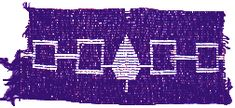 Iroquois history states that Hayehwatha introduced the wampum. The wampum was sacred and used as an invitation and/or treaty, recording significant events. The Hayehwatha Belt symbolizes the unity of the five Iroquois Nations. The squares from left to right are: Mohawk, Oneida, Onondaga (the tree; they are the wampum keepers), Cayuga and Seneca. The line between indicates alliance with the ends open to invite other nations to join.