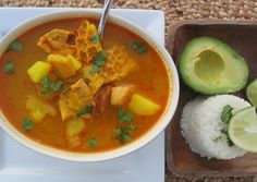Mondongo Colombiano (Pork, Tripe and Chorizo Soup)