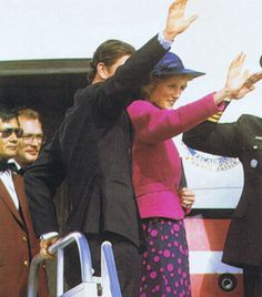 1983-07-01 Diana and Charles depart Edmonton, Alberta, for London Heathrow