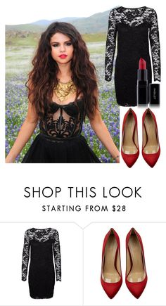 """""""Untitled #173"""" by sara-bitch1 ❤ liked on Polyvore featuring Vero Moda, Charlotte Olympia and Inglot"""