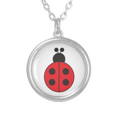 ladybug necklaces