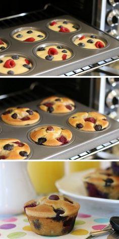 Grab-n-Go Pancake Muffins #TheNourishingHome