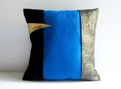 denim and leather throw pillows - Yahoo Image Search Results