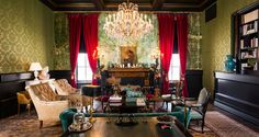 the ultimate in bohemian decor, the new Palazzo Lavaca in Austin, TX.