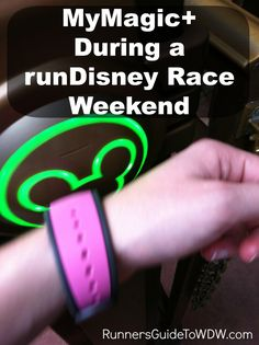 Some tips on how to use MyMagic+ to make your runDisney race weekend at Walt Disney World even more magical! http://www.runnersguidetowdw.com/mymagic-rundisney-weekend/