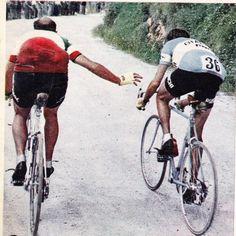 Magni and Coppi, Giro d'Italia 1955 | Tappa Trento - San Pellegrino