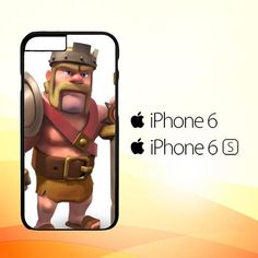 Barbarian King Clash Of Clan Games E1095 iPhone 6 | 6S Case