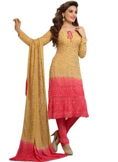 Goldan And Gajri Embroidery Resham Work Santton Lace Border Designer Sawlar Kameez http://www.angelnx.com/Salwar-Kameez/Churidar-Suits