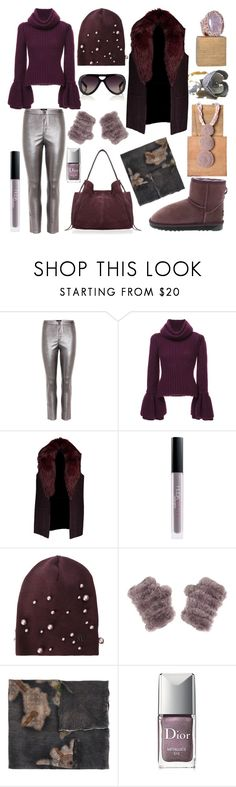 """Untitled #1276"" by harikleiatsirka ❤ liked on Polyvore featuring Isabel Marant, Brandon Maxwell, Michael Kors, Huda Beauty, Maison Michel, Avant Toi, Christian Dior and Derek Lam"