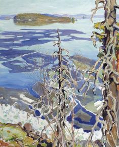 Buy online, view images and see past prices for Akseli Gallen-Kallela Finnish , Jäiden Lähtö Ruovesi (Ice Breaking-up on Lake Ruovesi). Invaluable is the world's largest marketplace for art, antiques, and collectibles. Winter Landscape, Landscape Art, Landscape Paintings, Scandinavian Paintings, Watercolor Trees, Oeuvre D'art, Art Reproductions, Art Day, Online Art