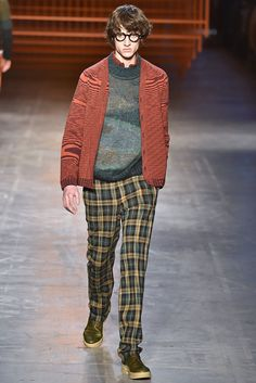 Missoni Fall 2017 Menswear Collection - Fashion Unfiltered