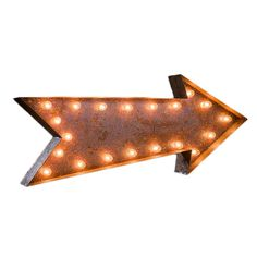 Vintage Marquee Lights Arrow Vintage