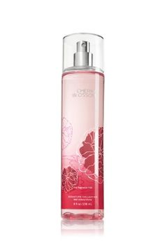 I discovered this last year and I ♥! Cherry Blossom Fine Fragrance Mist by Bath & Body Works. Try the candle too!