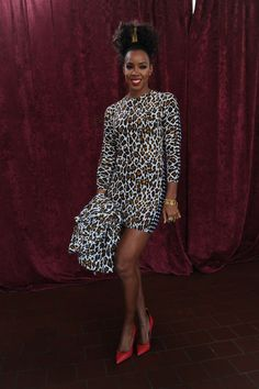 Kelly head to toe, day 3: Stella McCartney Dress, Giuseppe Shoes