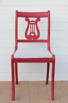 Learn how to reupholster a chair on iheartnaptime.com