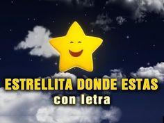 ESTRELLITA DONDE ESTAS - con letra - YouTube